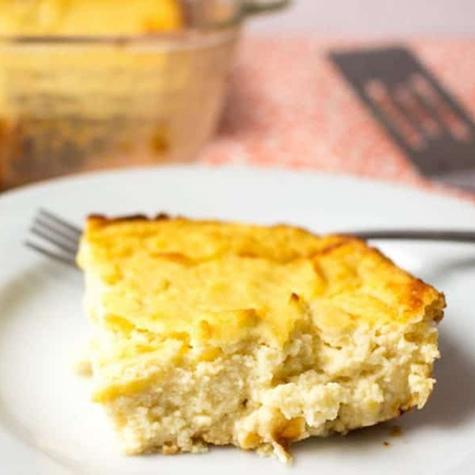 Recipe of the Week: Roasted Garlic Cauliflower Souffle