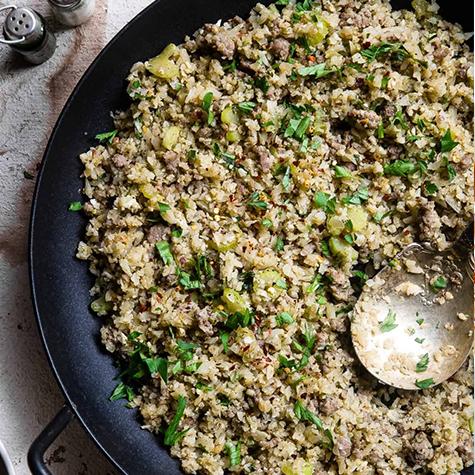 Recipe of the Week: Cauliflower Rice Stuffing