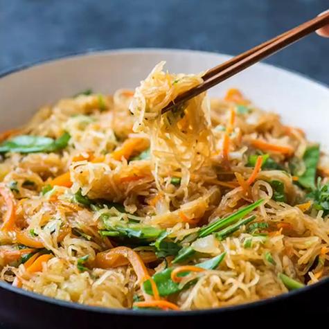 Recipe of the Week: Spaghetti Squash Chow Mein