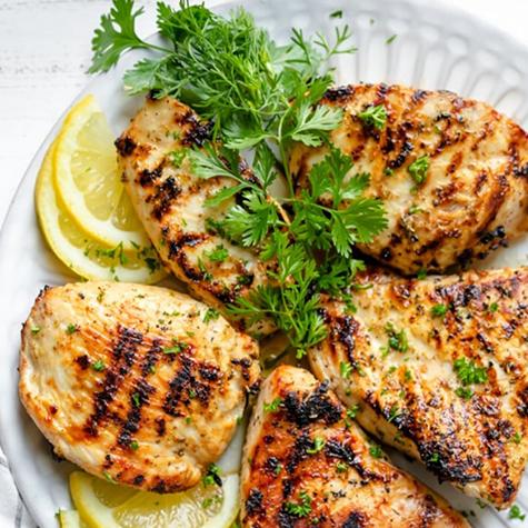 Recipe of the Week: Grilled Lemon Chicken