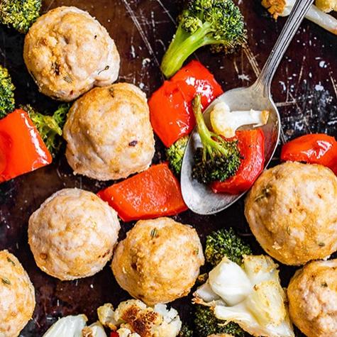 Recipe of the Week: Turkey Meatball Sheet Pan Dinner